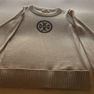 Tory Burch Logo Wool Sweater